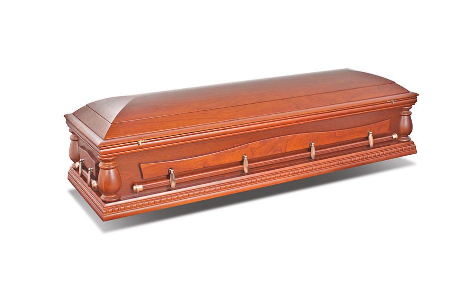 funeral casket hemingway