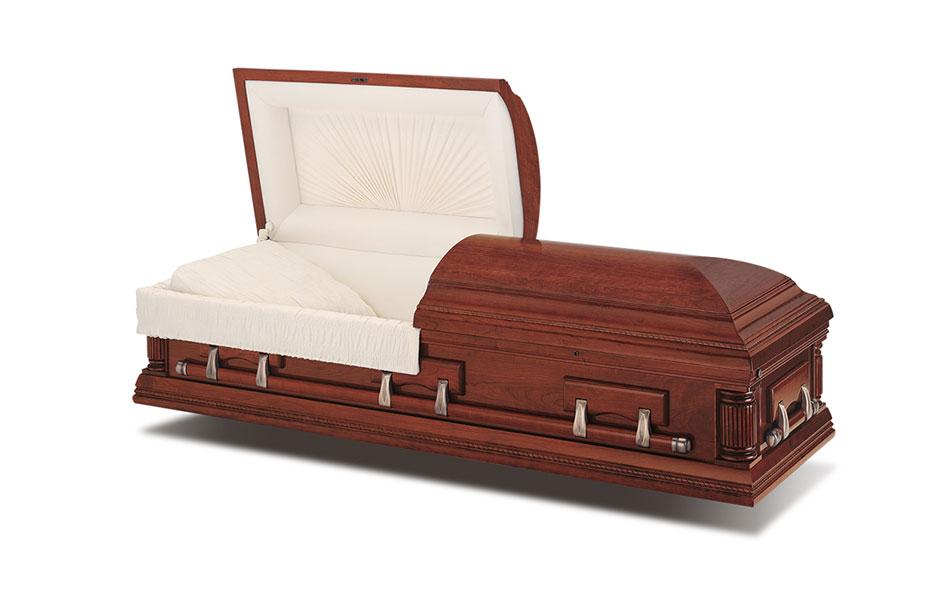 funeral casket wetson poplar